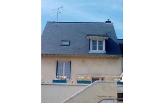 artisan lisieux, toit, ardoise, normandie