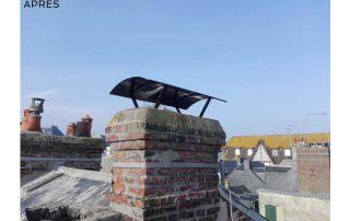 toit lisieux, chapeau cheminée, forme gendarme, normandie